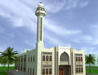 Mosque at Manama 1