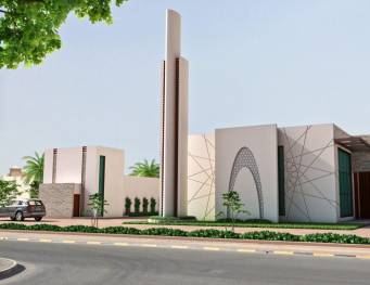 Riffa Views Lagoon Mosque 1