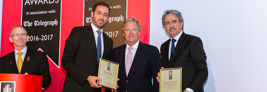 Arab Architects Wins Arabian Property Awards 2016